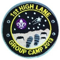 Group Camp Badge 2013